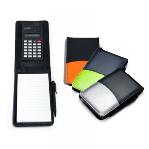 Calculator with Notepad & Pen
