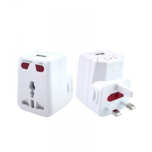 Travel Adaptor With USB Hub