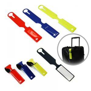 Truro Rectangular Luggage Tag