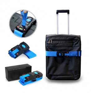 YLU1042 Luggage Strap With Weighing Scale