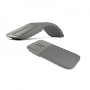 Microsoft Arc Touch Bluetooth Mouse - Grey