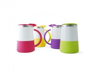 A2312S Abby Double Wall Stainless Steel Mug with Lid
