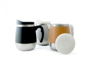 BD2316 Buddy Double Wall Stainless Steel Mug with Lid