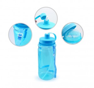 UBO1218 Bytrex Water Bottle With Straw